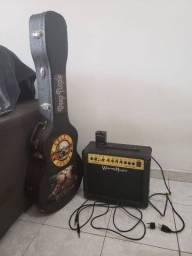 Guitarra modelo custom Les Paul SX EE3