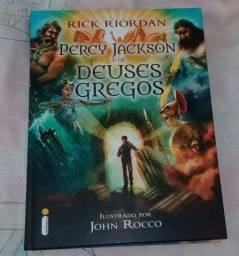 Livro Percy Jackson e os Deus e Gregos