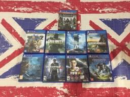 Combo! 9 Jogos de PS4, 50R$ Cada
