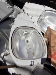 Luminária completa de 400w vapor metálico