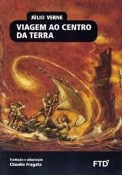 Livro Viagem ao Centro da Terra *NOVO