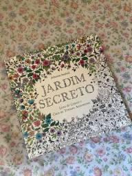 DOANDO Livro de pintar JARDIM SECRETO