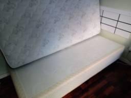 Box solteiro + Colchão