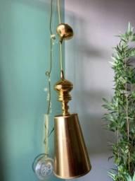 Luminária Dourada