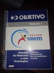 Livro de exercícios - Objetivo Volume I