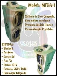 Caixa de som S.G.S MTDA-1