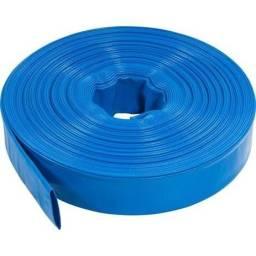Mangueira Flat Flexivel Azul