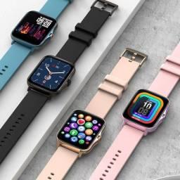 Relógio Inteligente Smartwatch P8 Plus [Cor Preta]