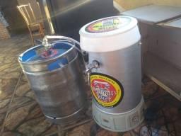 Choperia com barril