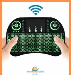 Mini Teclado Qwerty Touch Pad Wirelles para TV Box PC