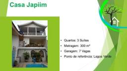 Título do anúncio: casa no japiim I, próximo a lagoa