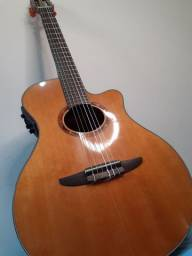 violão profissional Yamaha Ntx700 Nylon eletroacústico