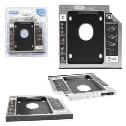 Caddy Segundo Hd Para Notebook 9,5 MM 12,7MM KP-HD009 Knup