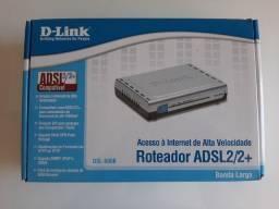Roteador D-Link ADSL2/2+ (DSL-500B)