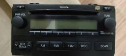 Rádio Toyota Fielder Corolla 2007 original
