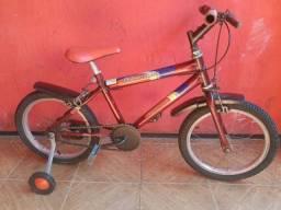 Bicicleta masculina infantil aro 16