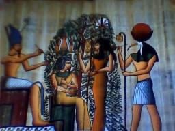 Título do anúncio: vendo troco panpiro egipso antigo 3000 anos