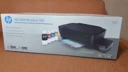Impressora HP ink tank wirelless 416 na caixa com NF