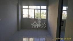 Apartamento com 2 dormitórios para alugar, 60 m² por R$ 900,00/mês - Centro - Niterói/RJ