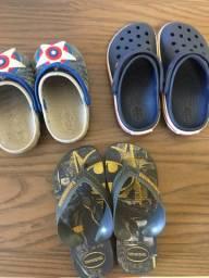 Chinelo e Crocs Infantil