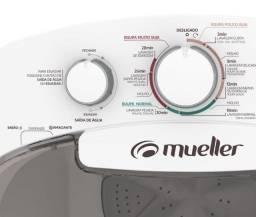 Máquina de lavar roupas 14 kg semiautomática - smart wave / lava até edredom ! NOVA