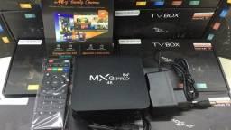 Tv box MXQ pró 128gb