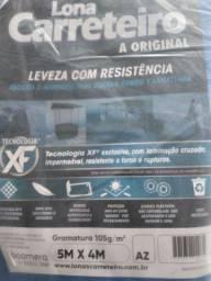 PROMOCAO LONA CARRETEIRO HA ORIGINAL AZUL  5 X 4