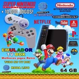 Video Game Retro Box Com  + 10.000 jogos e brinde