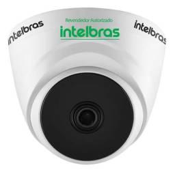 Câmera dome vhl intelbras hdcvi 720 p 3.6 mm ir 20 promoção