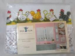 Kit para cozinha fontana 9 peças (Beija Flor)