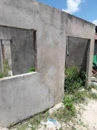 Título do anúncio: Vende-se casa em construção 25.000mil