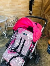 Carinho de bebê completo com 3 locais de cinto de segurança !!