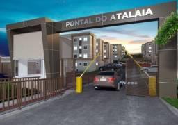 Título do anúncio: JD Pontal do Atalaia em Fragoso com área privativa, 2 qts, piscina e área de lazer total