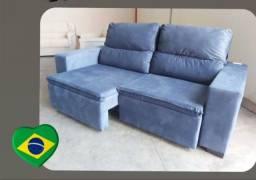 Título do anúncio: sofá sofá retrátil e reclinável -promoção -frete grátis !!