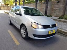 Polo Sedan 1.6 Completo 2013 GNV Regularizado Pintura original Mec revisada vd/trc