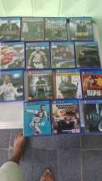 Título do anúncio: Jogos originais de PS4