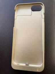 Capa recarregavel Iphone 7
