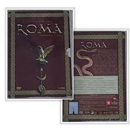 DVD'S/LACRADA/ROMA COLEÇÃO COMPLETA /1,2 TEMPORADA