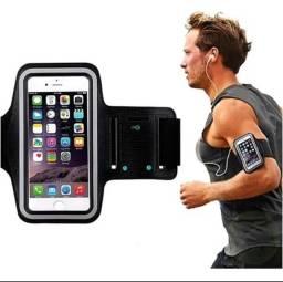 Capa de celular para corrida e exercícios