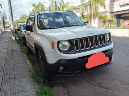 Título do anúncio: Jeep Renegade branco novinho