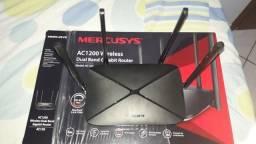 Roteador Mercusys dual band Ac12g Gigabit 1200mbps