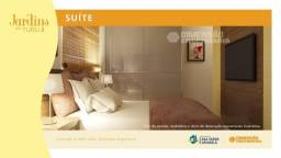 Jardins do Turu-3// Condomínio fechado, apto com 2 dorm//#