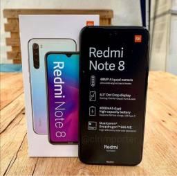 Redmi Note 8 Xiaomi Novo Zero + Garantia
