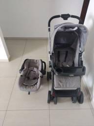 Carrinho +bebê conforto kiddo