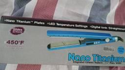 Prancha alisadora Nano Titanium Lacrada!