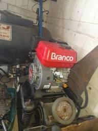 Cm13 zerado com motor gasolina BRANCO