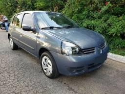 Renault Clio 1.0 flex cinza 2011