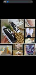 Sapatos feminino, masculino e infantil