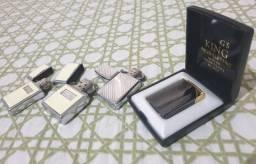 Título do anúncio: Kit 3 isqueiros zippo + eletrico