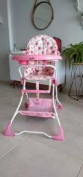 Título do anúncio: Cadeirão rosa para bebê